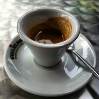 We use Caffè Guglielmo, one of the best Italian coffees